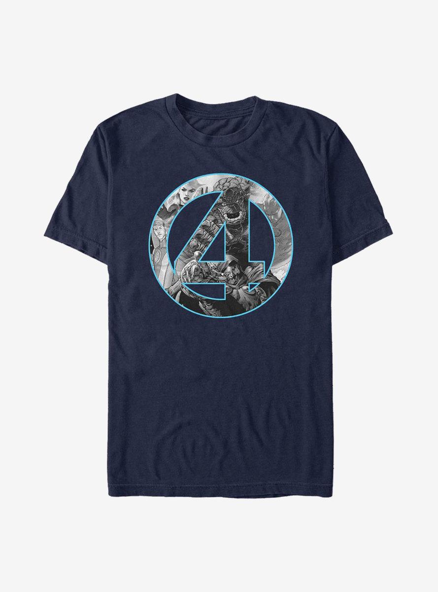 Marvel Fantastic Four Badge T-Shirt