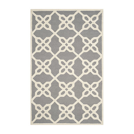 Safavieh Kentigern Geometric Hand Tufted Wool Rug, One Size , Gray