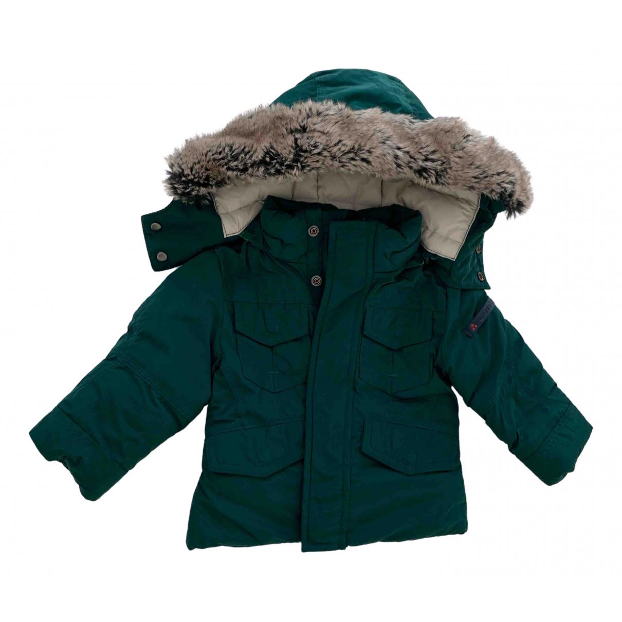 Peuterey - Blousons.Manteaux   pour enfant - vert