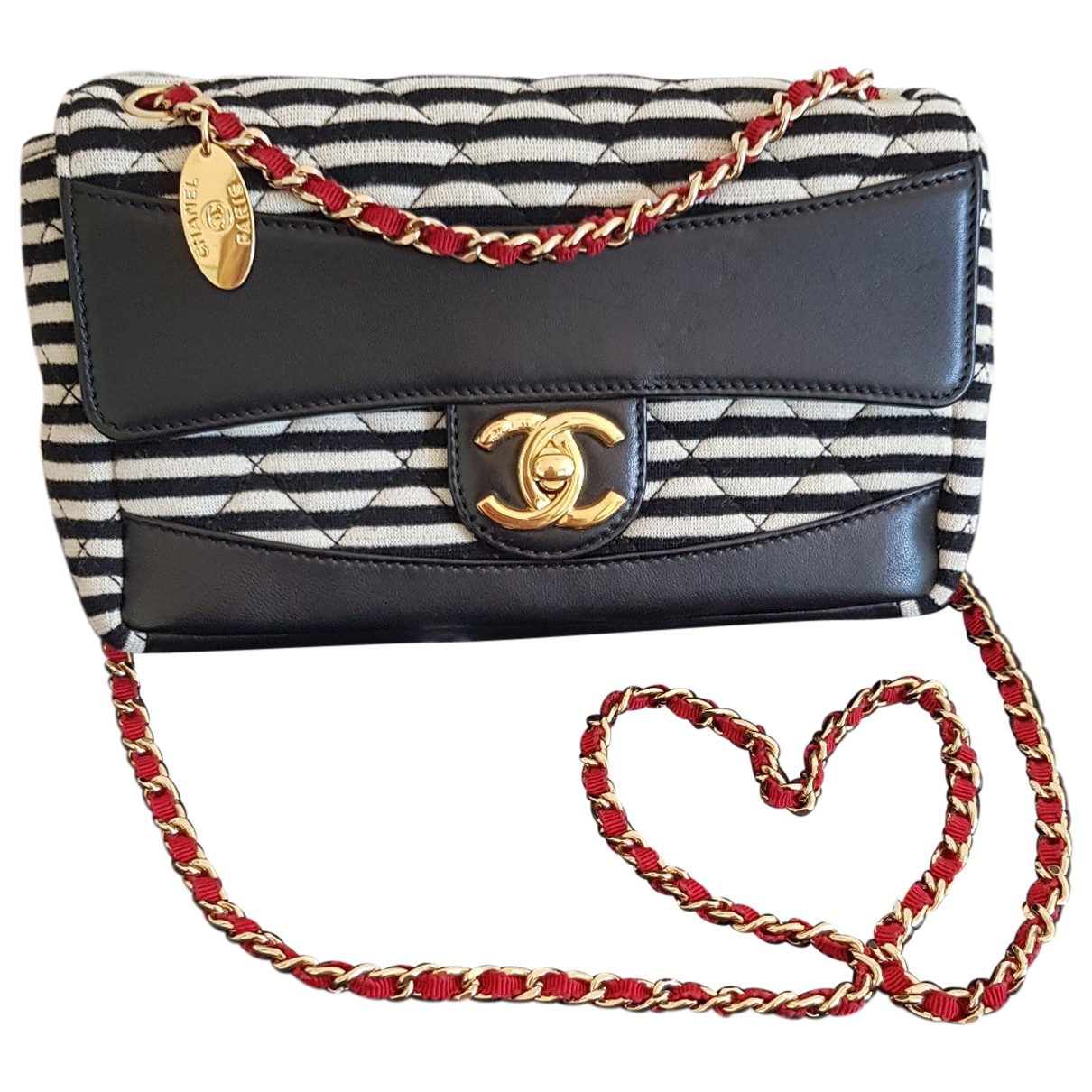 Chanel Timeless/Classique Multicolour Cloth handbag for Women \N