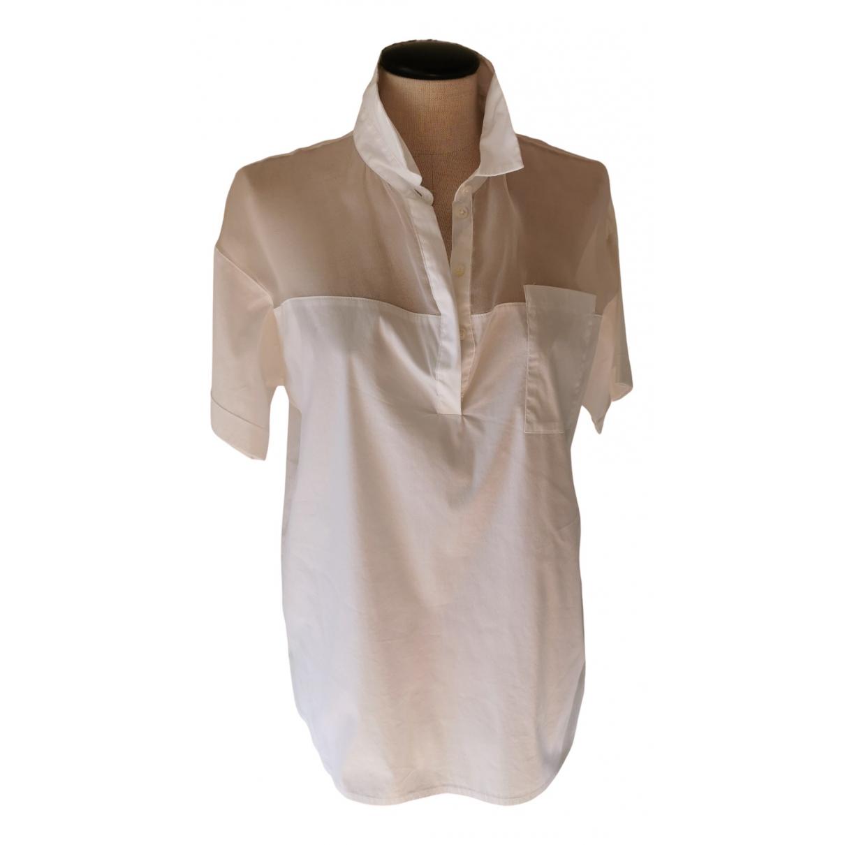 Seventy - Top   pour femme en coton - blanc