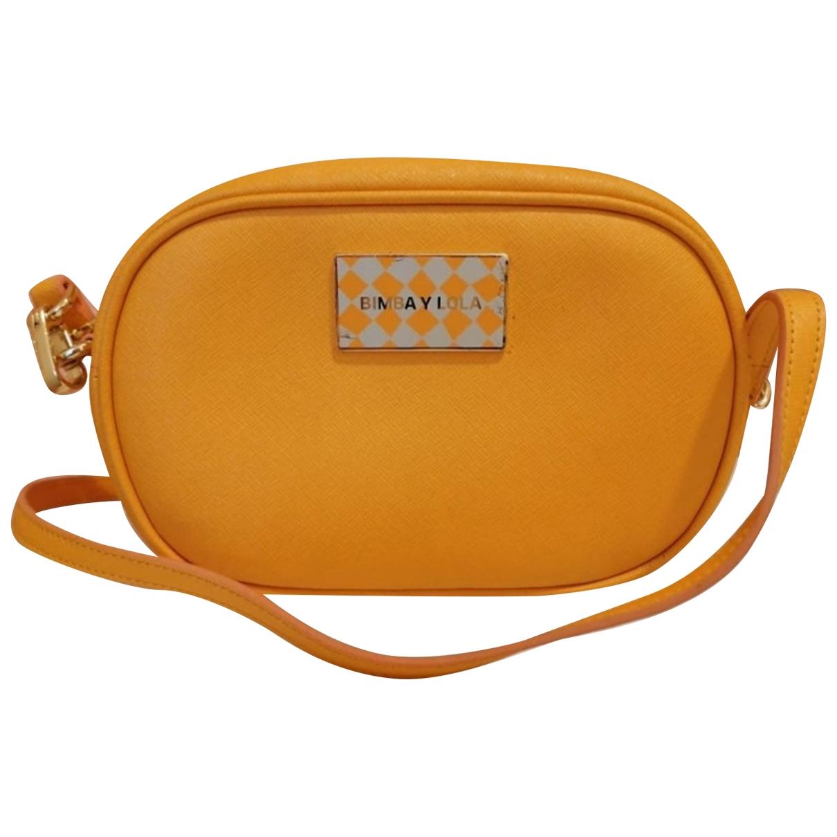 Bimba Y Lola \N Yellow Leather handbag for Women \N