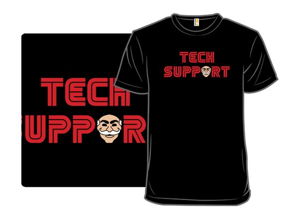 Elliot's Tech Support T Shirt