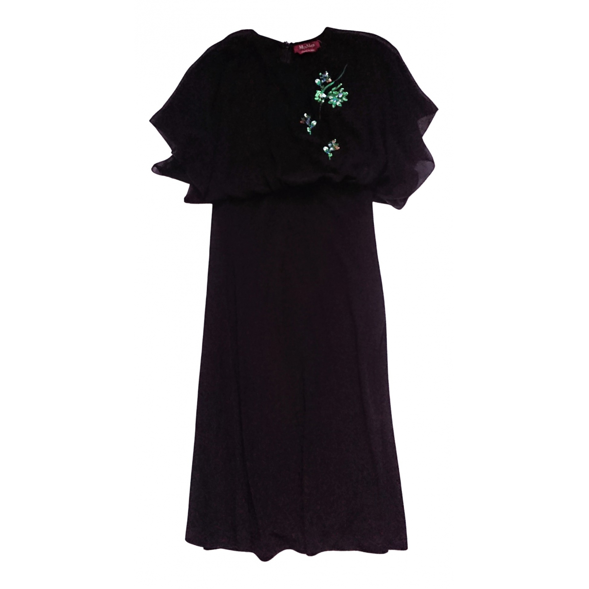 Max Mara \N Black dress for Women M International