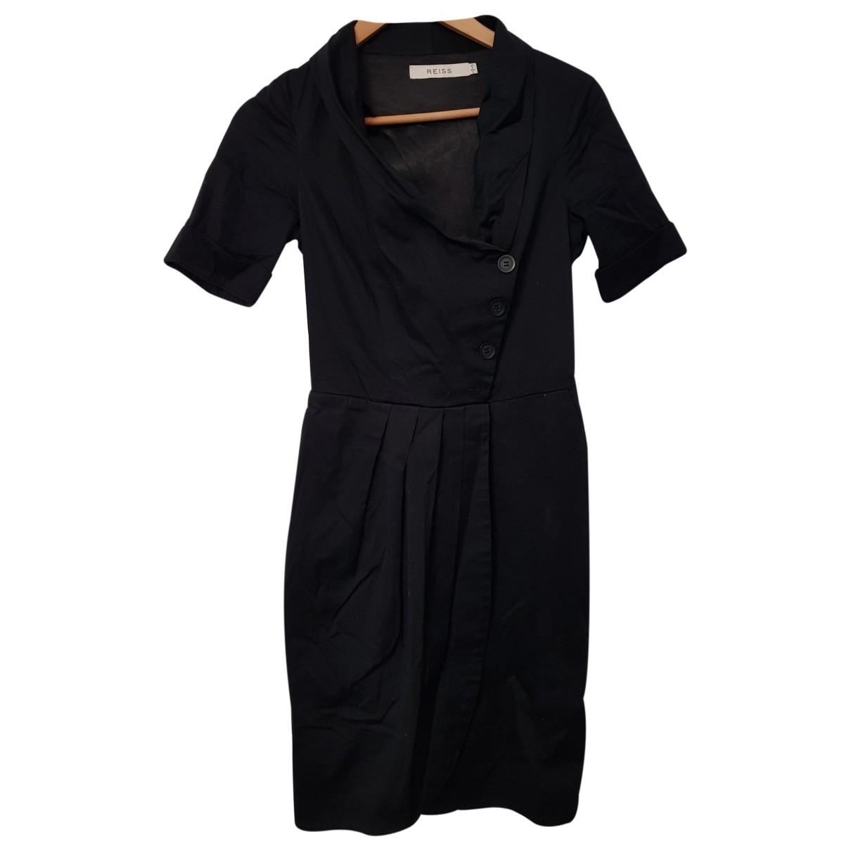 Reiss \N Black Cotton dress for Women 6 UK