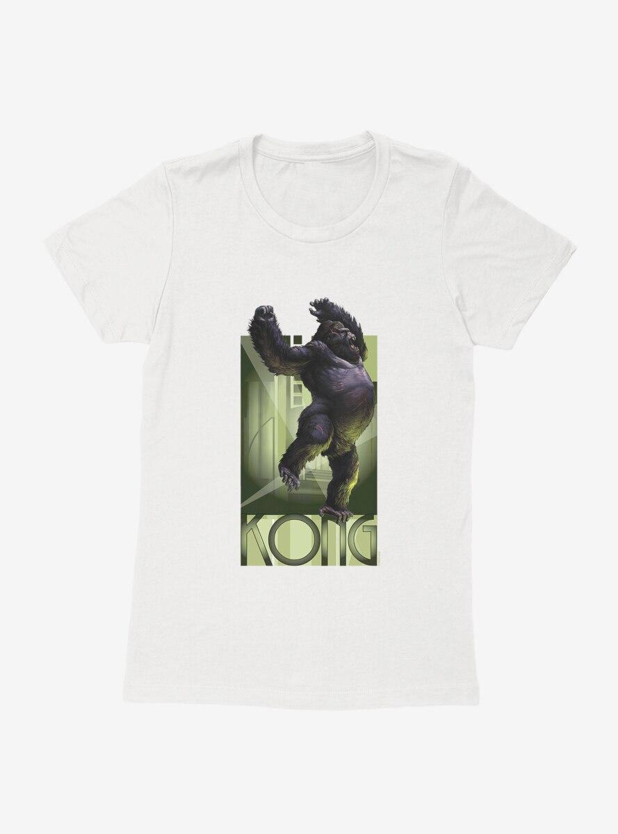 King Kong Battle Call Womens T-Shirt