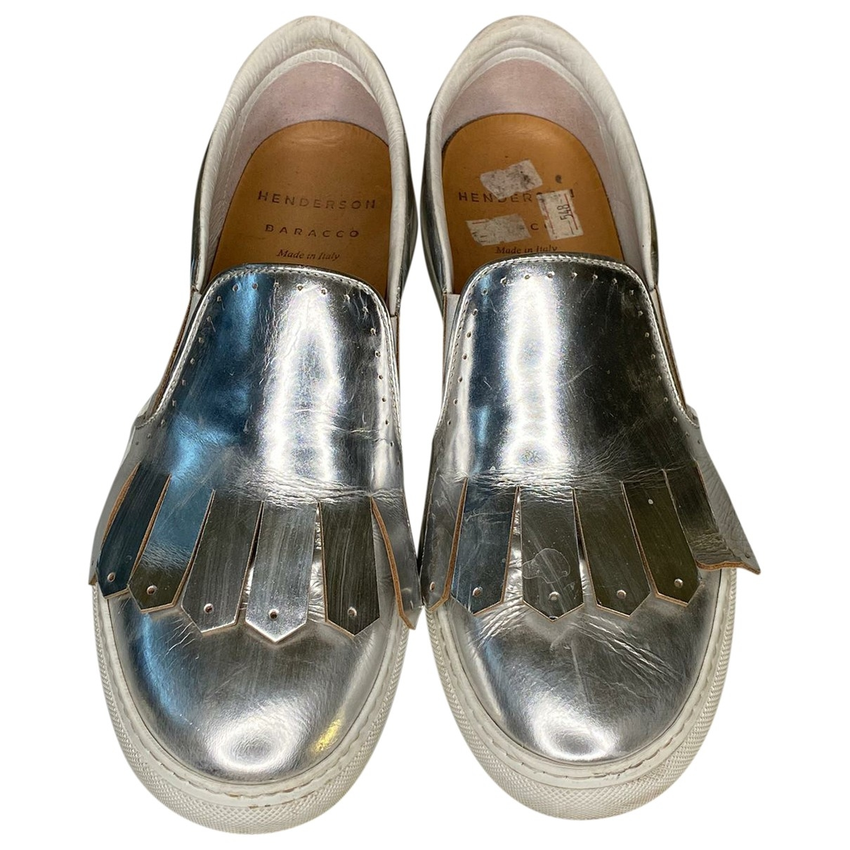 Henderson Fusion \N Metallic Leather Trainers for Women 38 EU