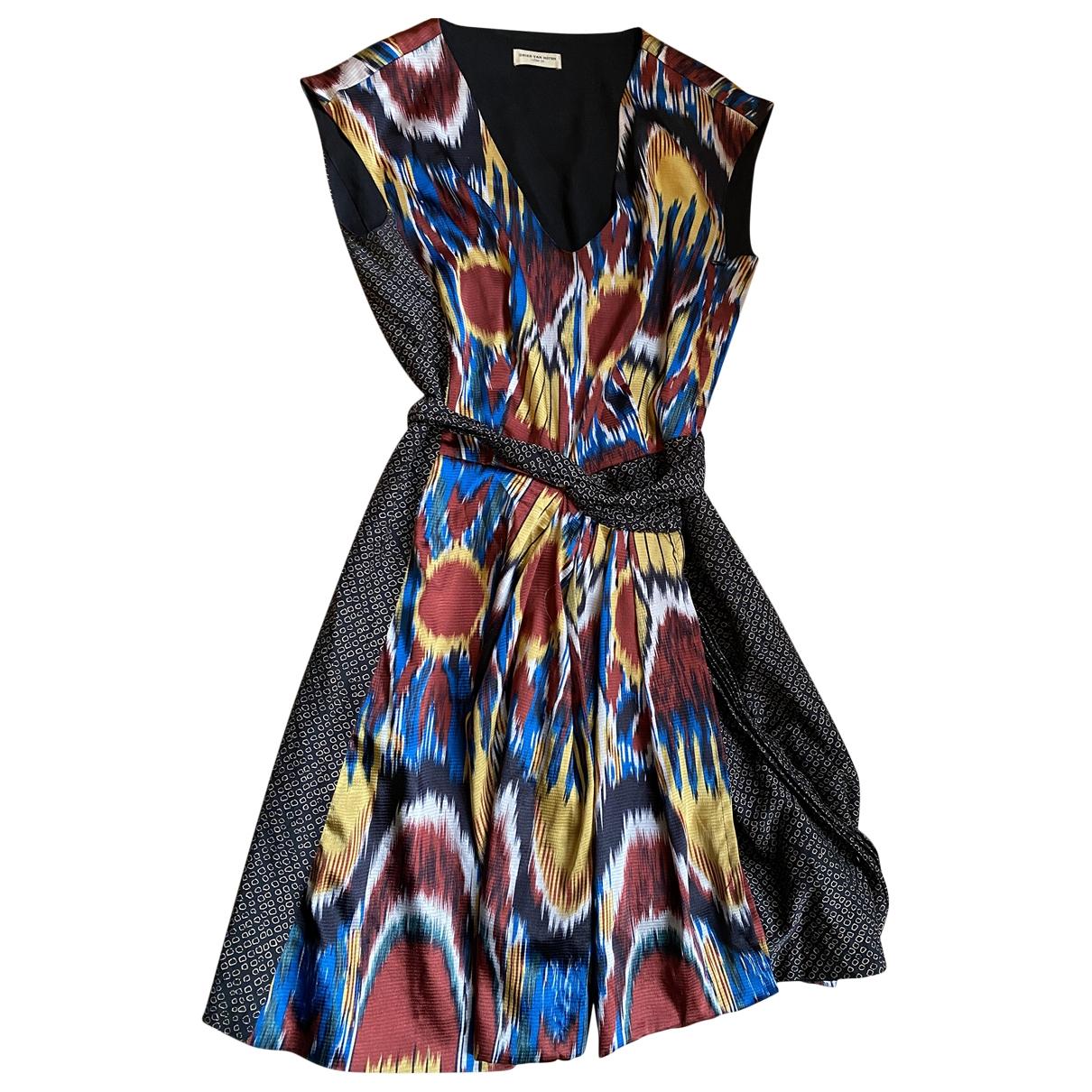 Mini vestido de Seda Dries Van Noten