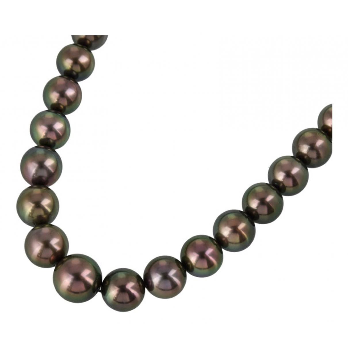 Collar de Oro blanco Mikimoto