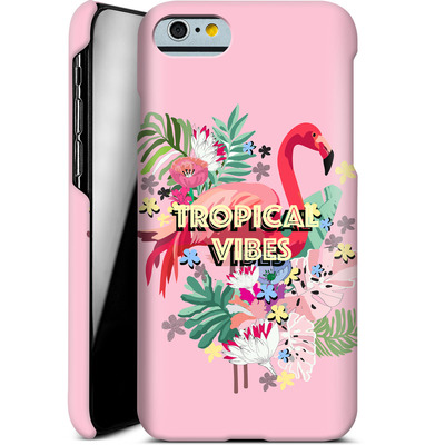 Apple iPhone 6s Smartphone Huelle - Flamingo Solo von Mukta Lata Barua