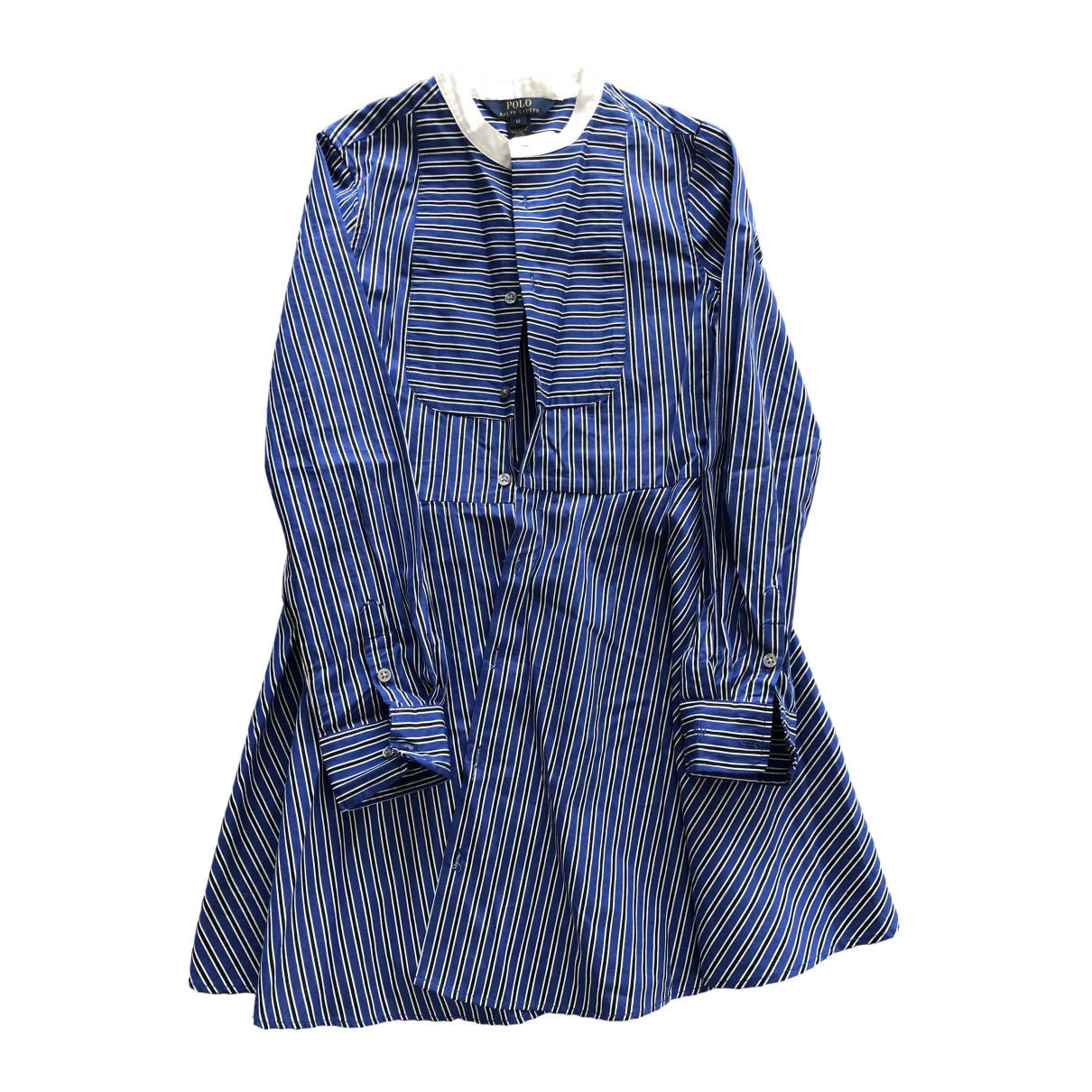 Polo Ralph Lauren \N Blue Cotton dress for Kids 12 years - XS FR