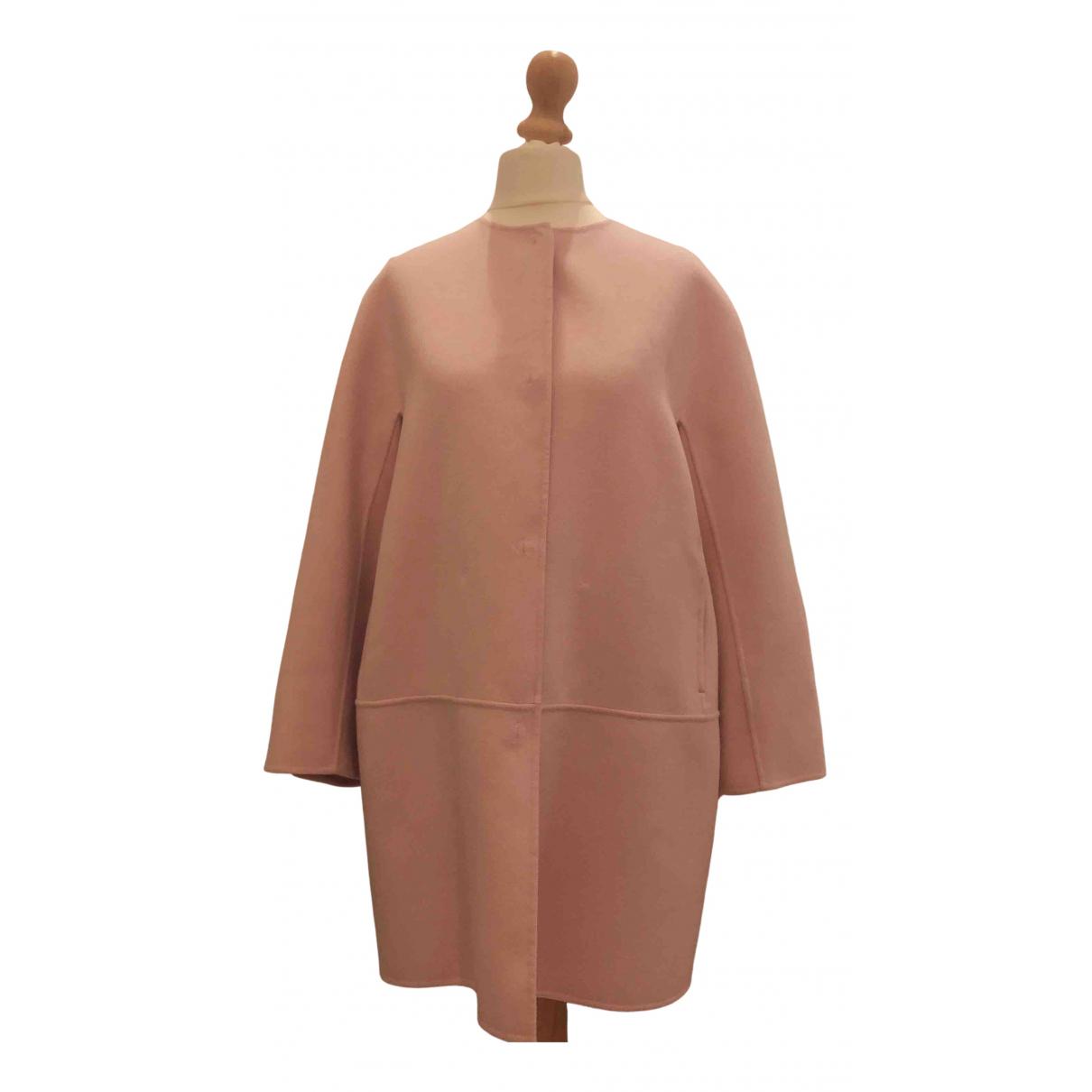 Max Mara Studio - Manteau   pour femme en laine - rose