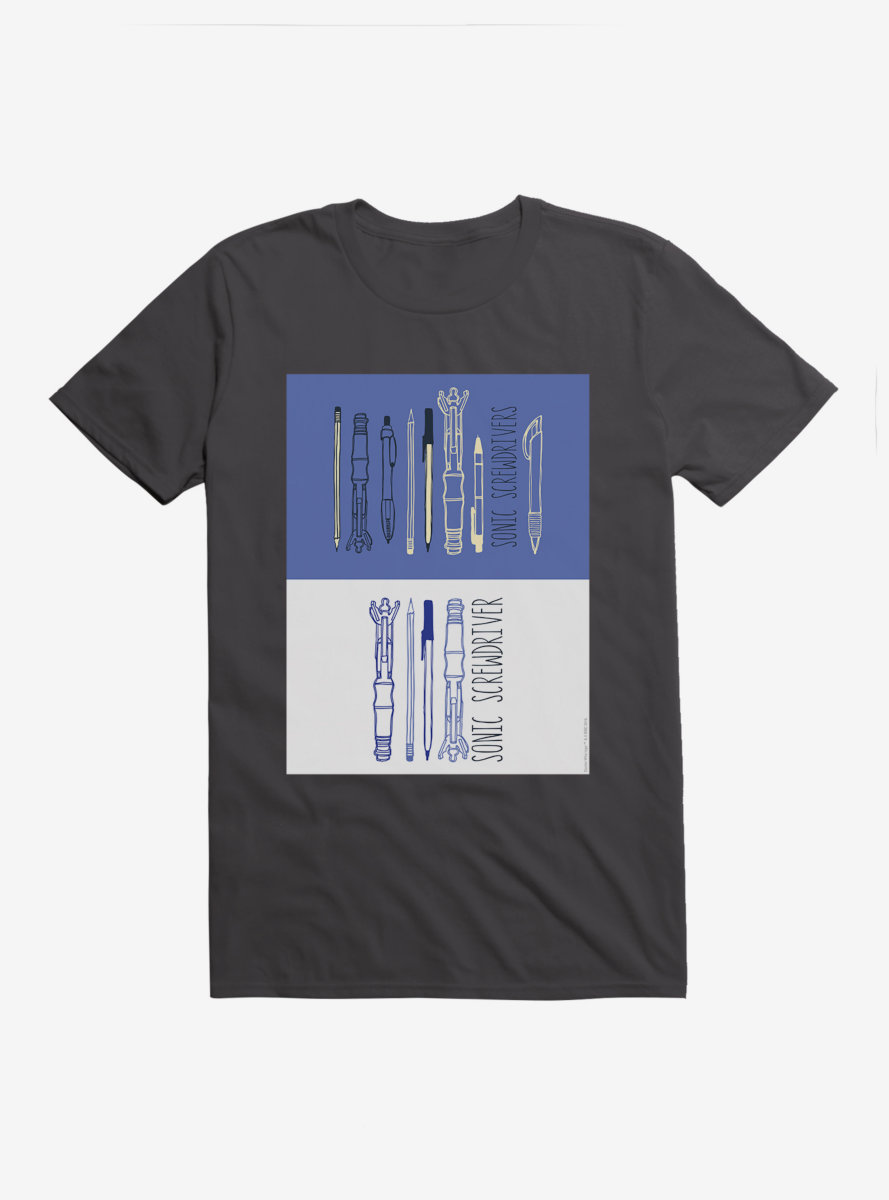 Doctor Who Screwdrivers Set T-Shirt