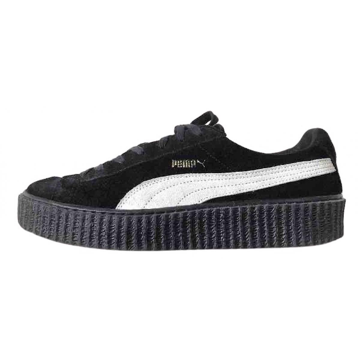 Fenty X Puma - Baskets   pour homme en suede - noir