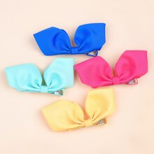 4pcs Toddler Girls Bow Hair Clip