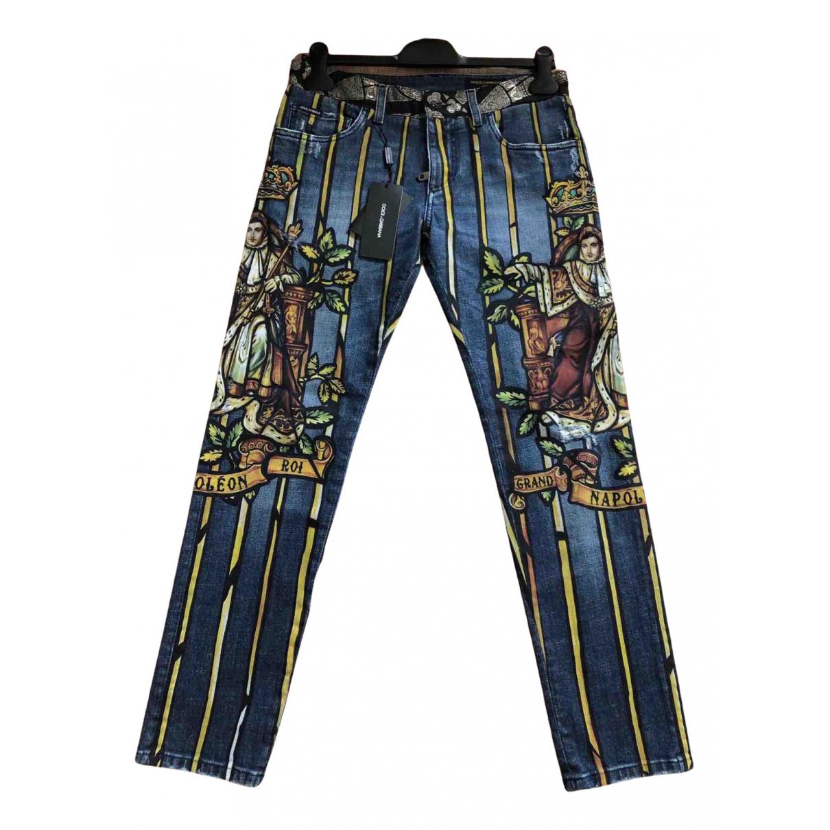 Dolce & Gabbana N Cotton - elasthane Jeans for Men 32 US