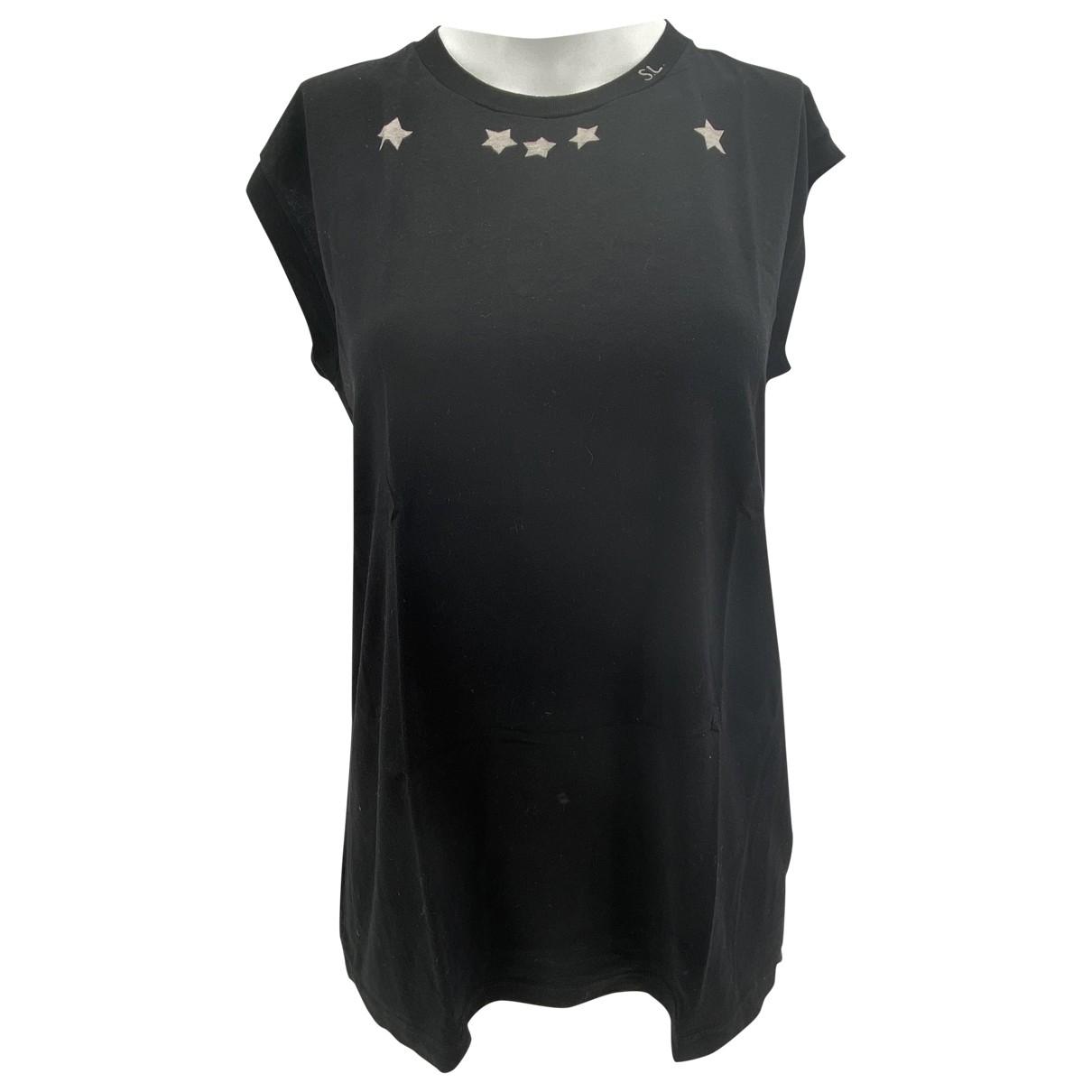 Saint Laurent \N Black Cotton  top for Women S International