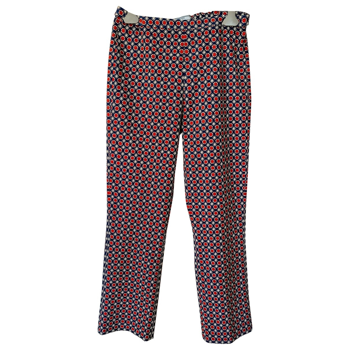 Prada \N Multicolour Trousers for Women 44 IT
