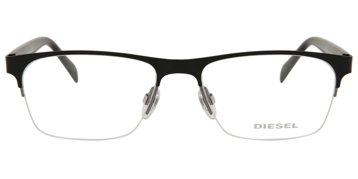 Diesel DL5174 005 Men's Glasses Black Size 54 - Free Lenses - HSA/FSA Insurance - Blue Light Block Available