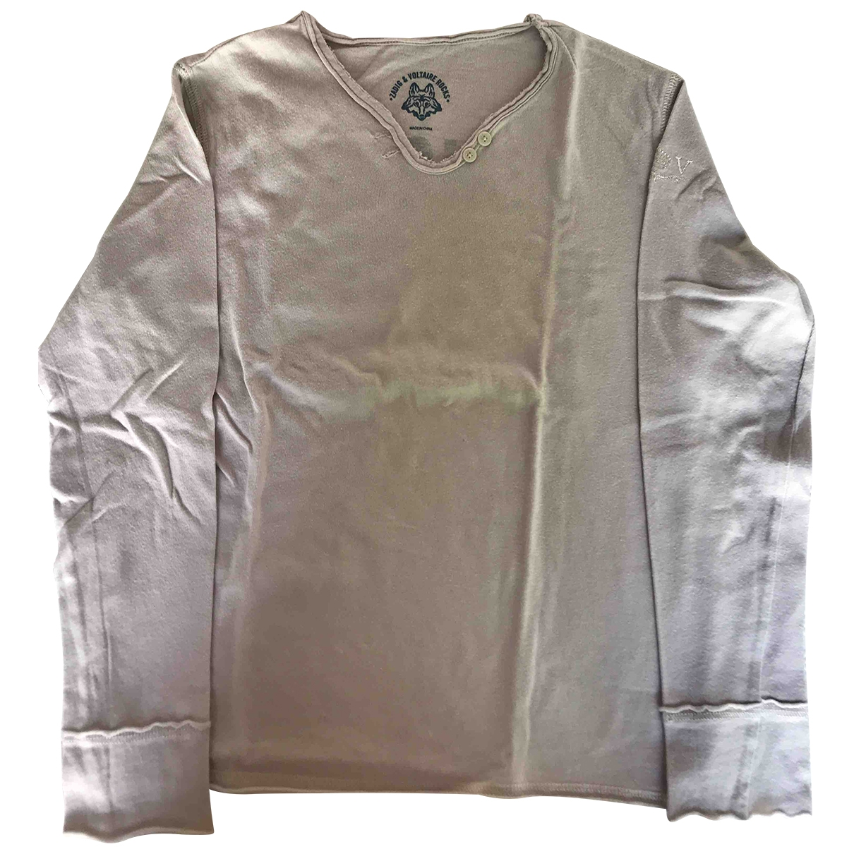 Zadig & Voltaire \N Beige Cotton  top for Kids 10 years - up to 142cm FR