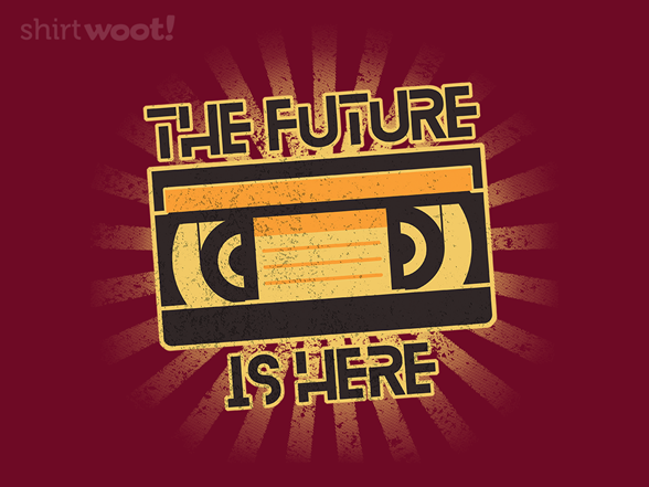 The Future Is Here T Shirt