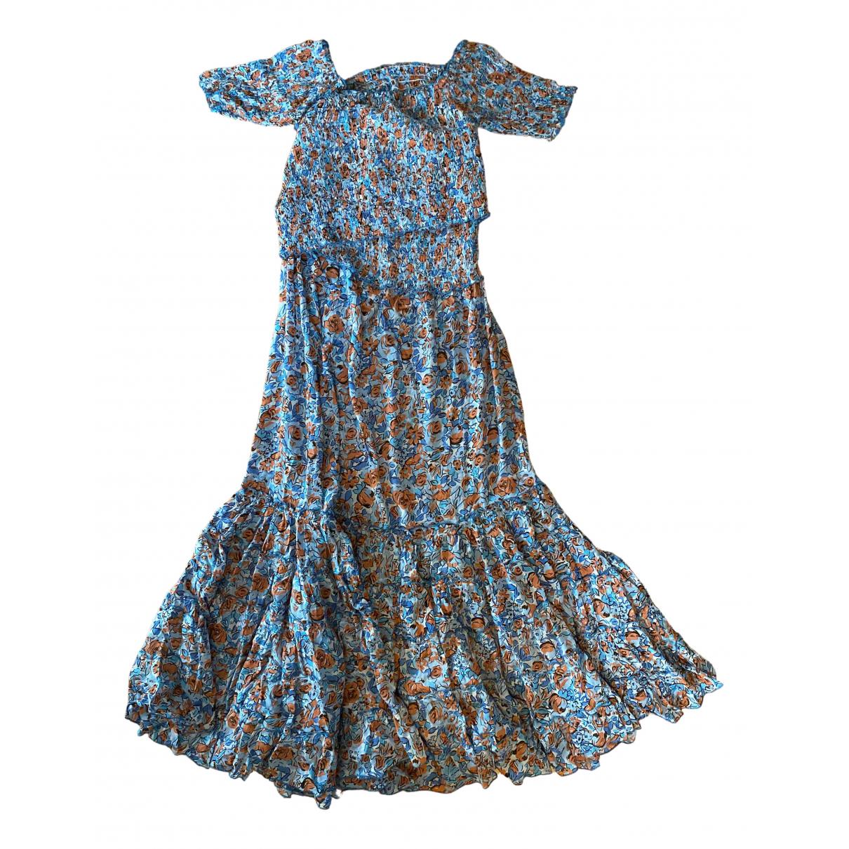 Poupette St Barth - Robe   pour femme en coton - elasthane - bleu