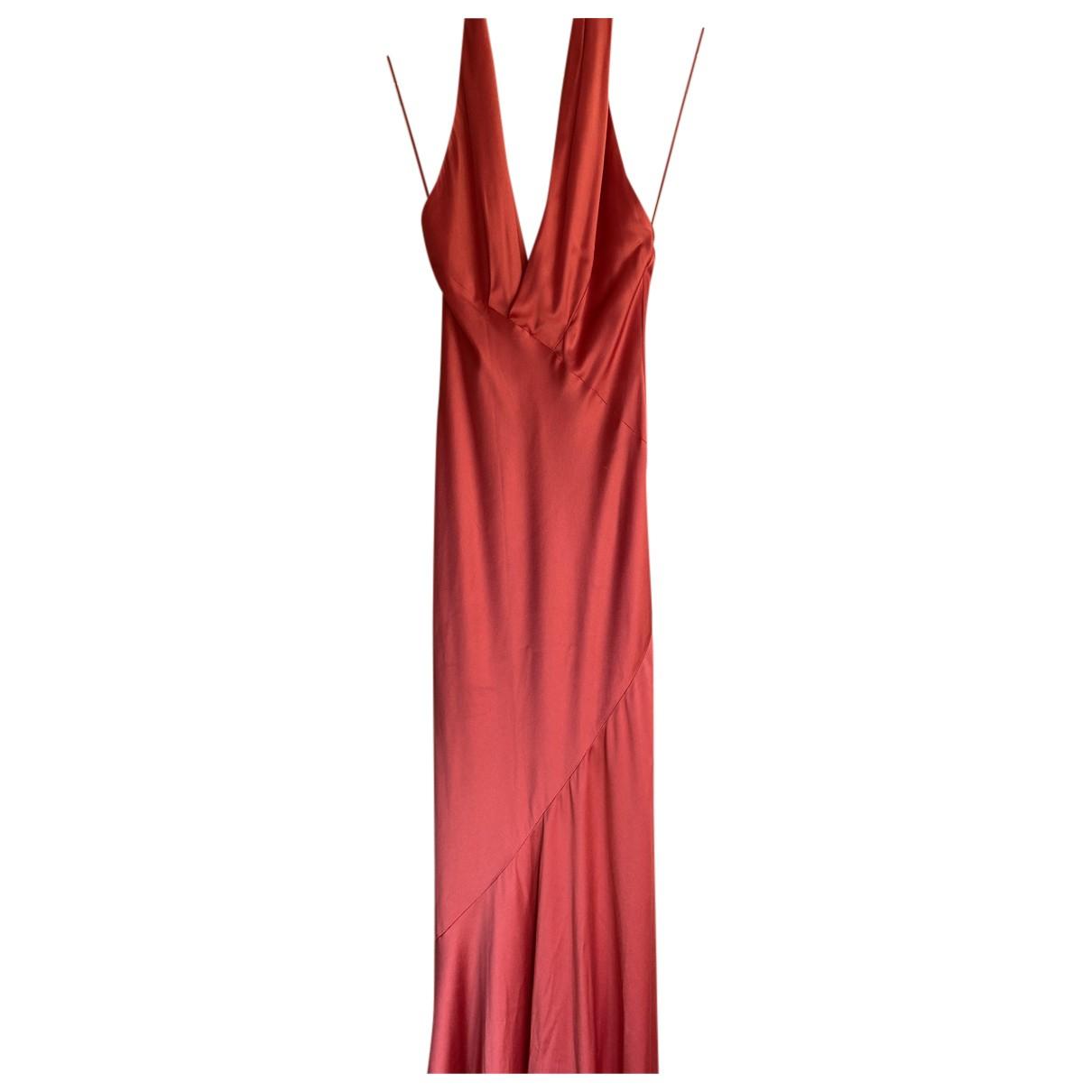 Amanda Wakeley \N Kleid in  Rot Viskose