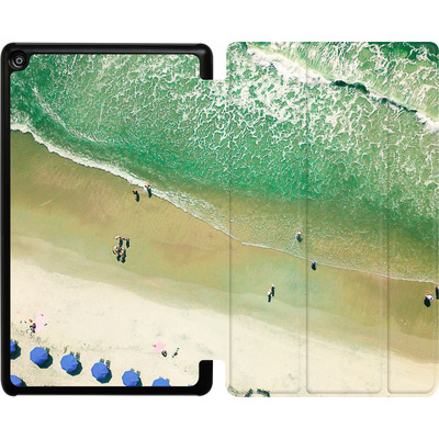 Amazon Fire HD 8 (2018) Tablet Smart Case - Beach Umbrellas von Joy StClaire