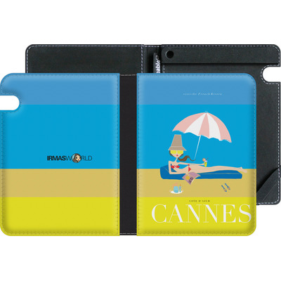 Amazon Kindle Voyage eBook Reader Huelle - CANNES TRAVEL POSTER von IRMA
