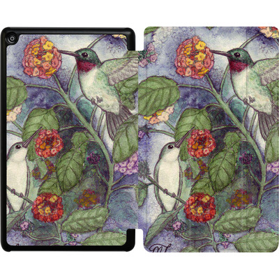 Amazon Fire HD 8 (2018) Tablet Smart Case - Mary Layton - Flying birds von TATE and CO