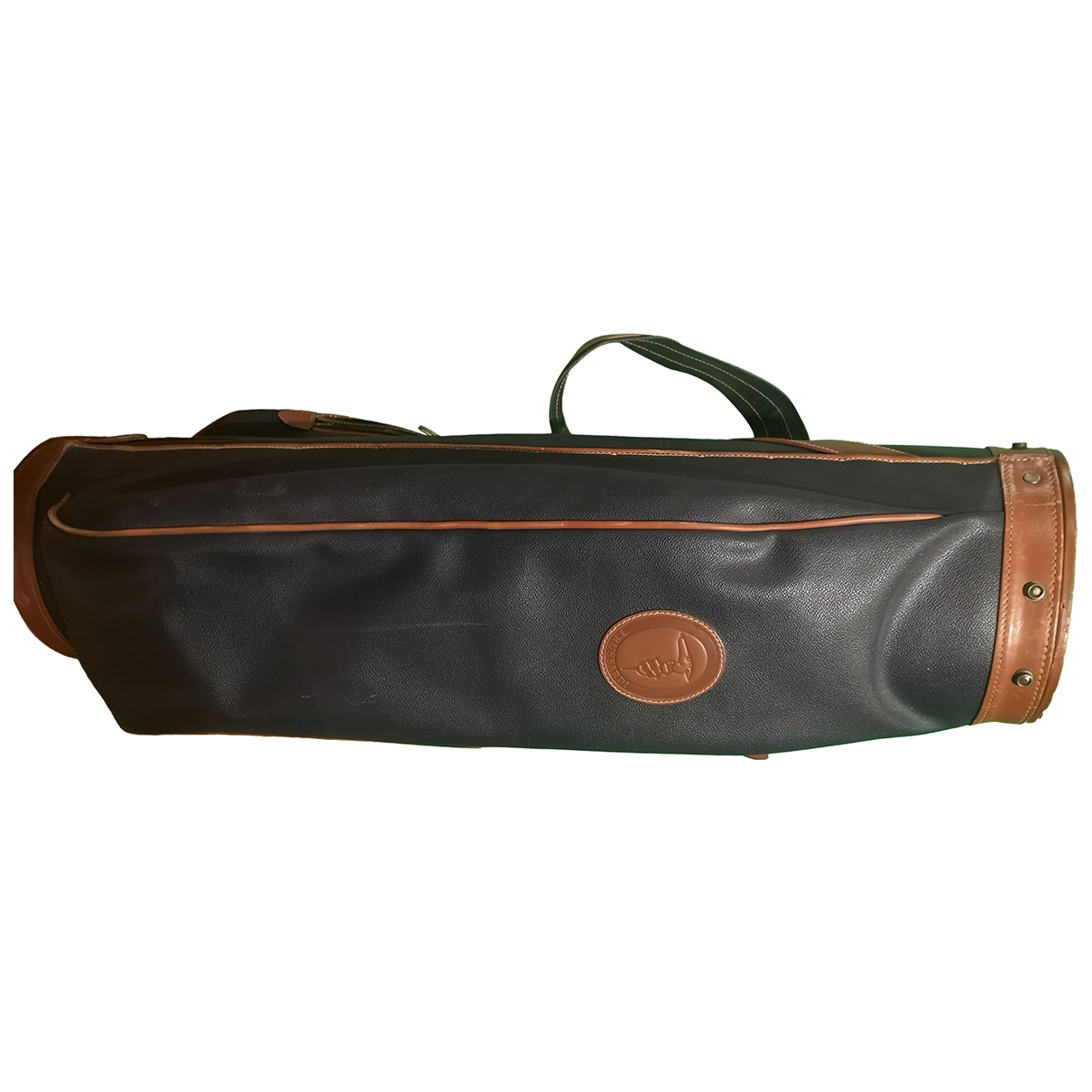 Trussardi - Golf   pour lifestyle en cuir - bleu