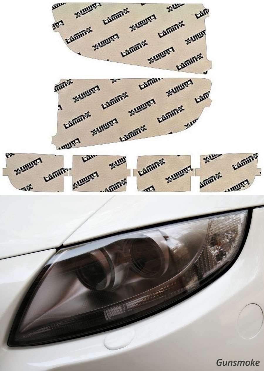 Honda Ridgeline 09-14 Gunsmoke Headlight Covers Lamin-X H035G