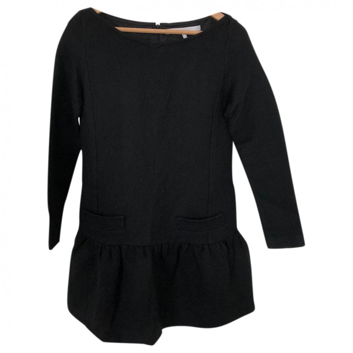 Victoria, Victoria Beckham - Robe   pour femme en laine - noir