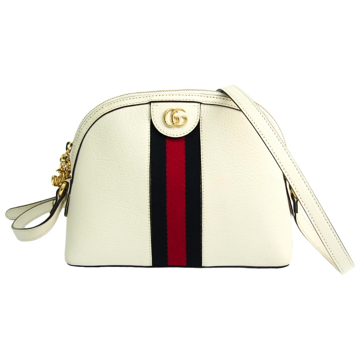 Gucci \N Handtasche in  Marine Leder