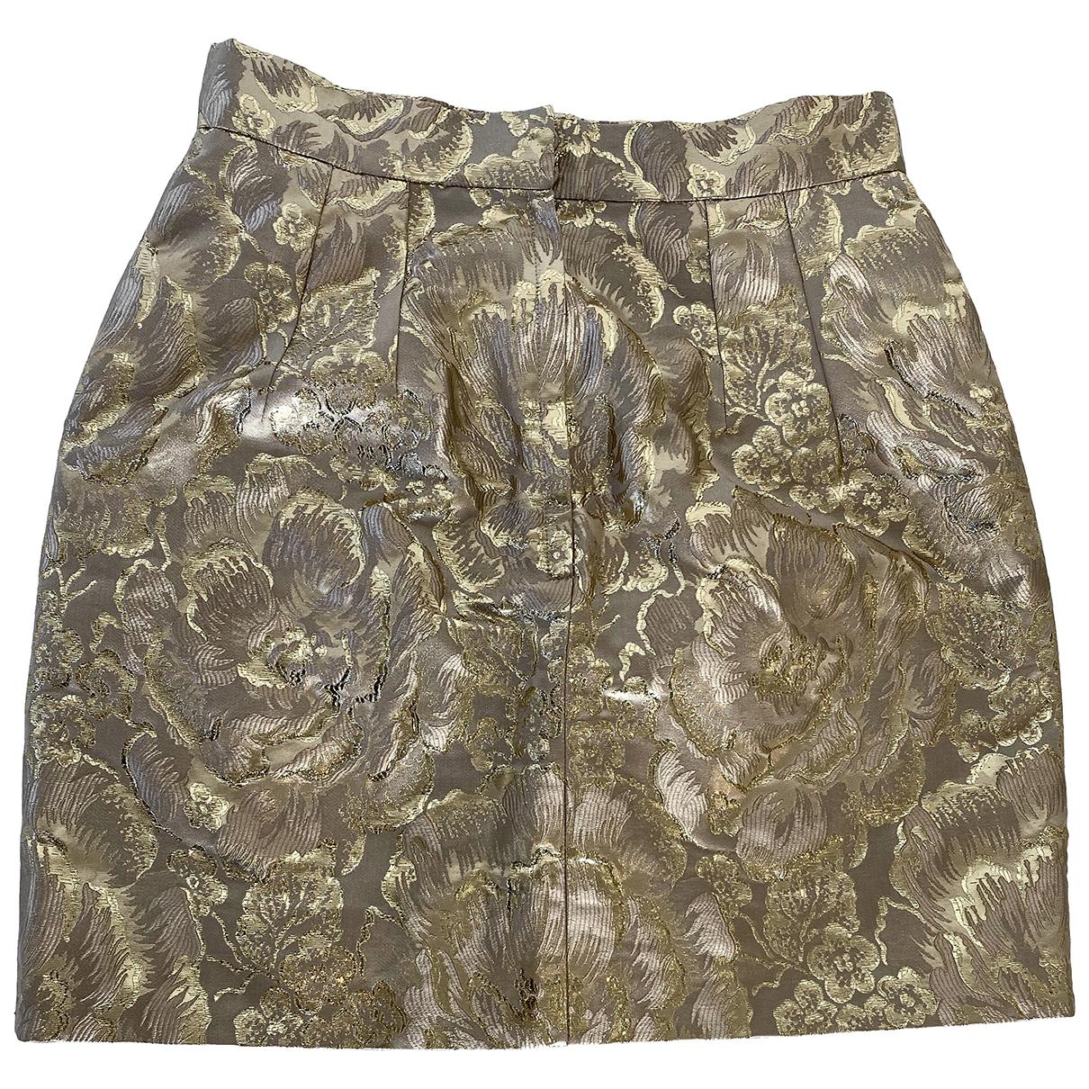 Dolce & Gabbana \N Rocke in  Gold Synthetik