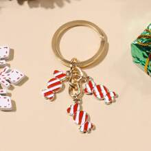 Christmas Candy Charm Keychain