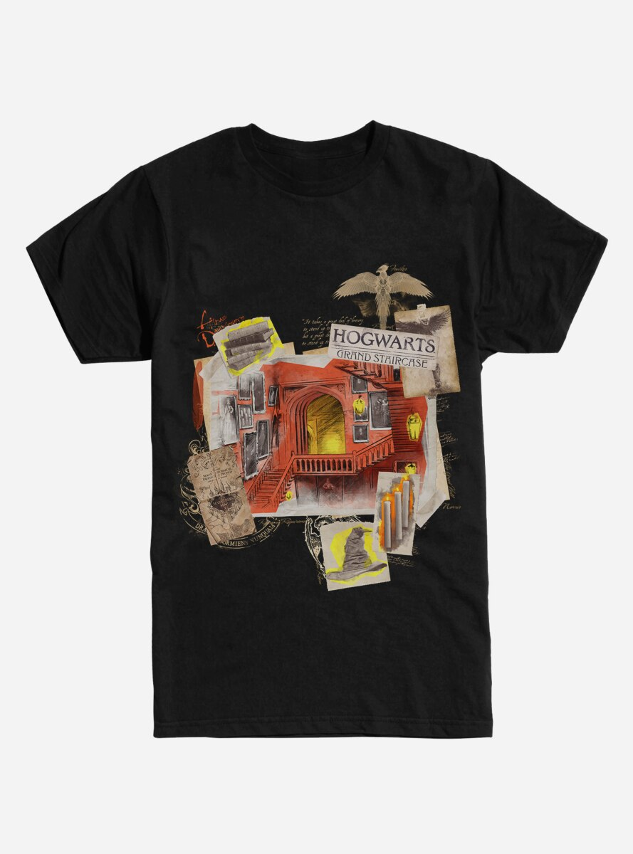Harry Potter Hogwarts Grand Staircase T-Shirt