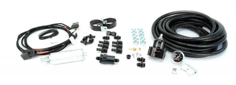 FAST Master Inline Fuel Pump Kit w/ Hose and Fittings