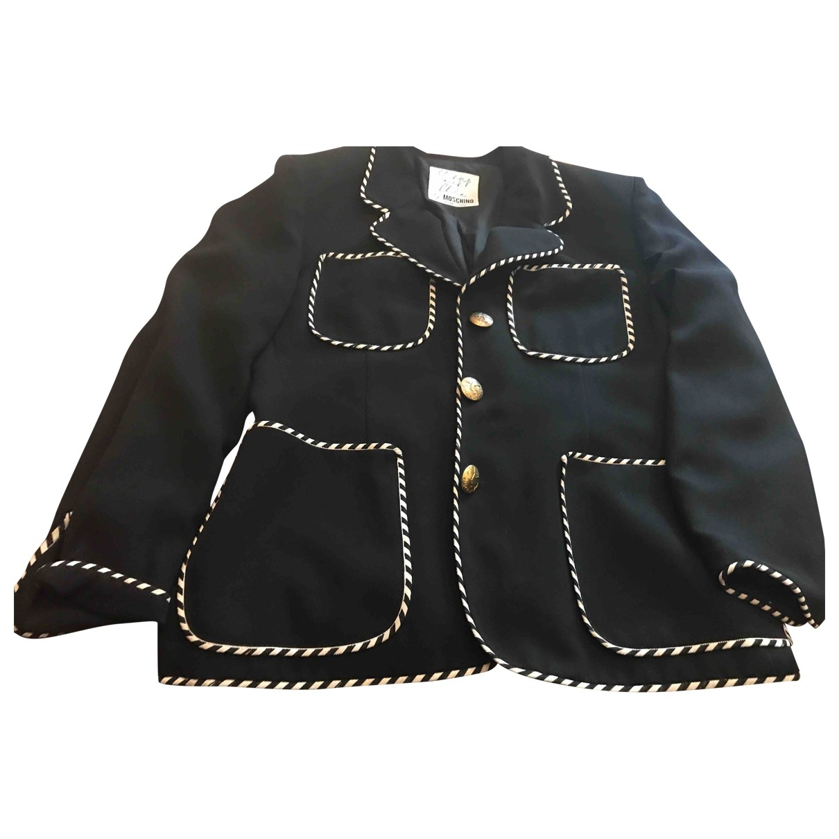 Moschino Cheap And Chic - Veste   pour femme - noir