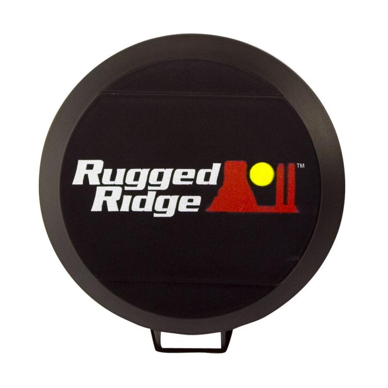Rugged Ridge 15210.5 6 Inch HID Off Road Light Cover, Black