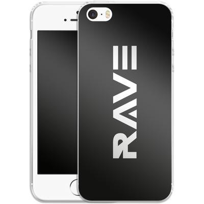 Apple iPhone 5 Silikon Handyhuelle - RAVE von Berlin Techno Collective