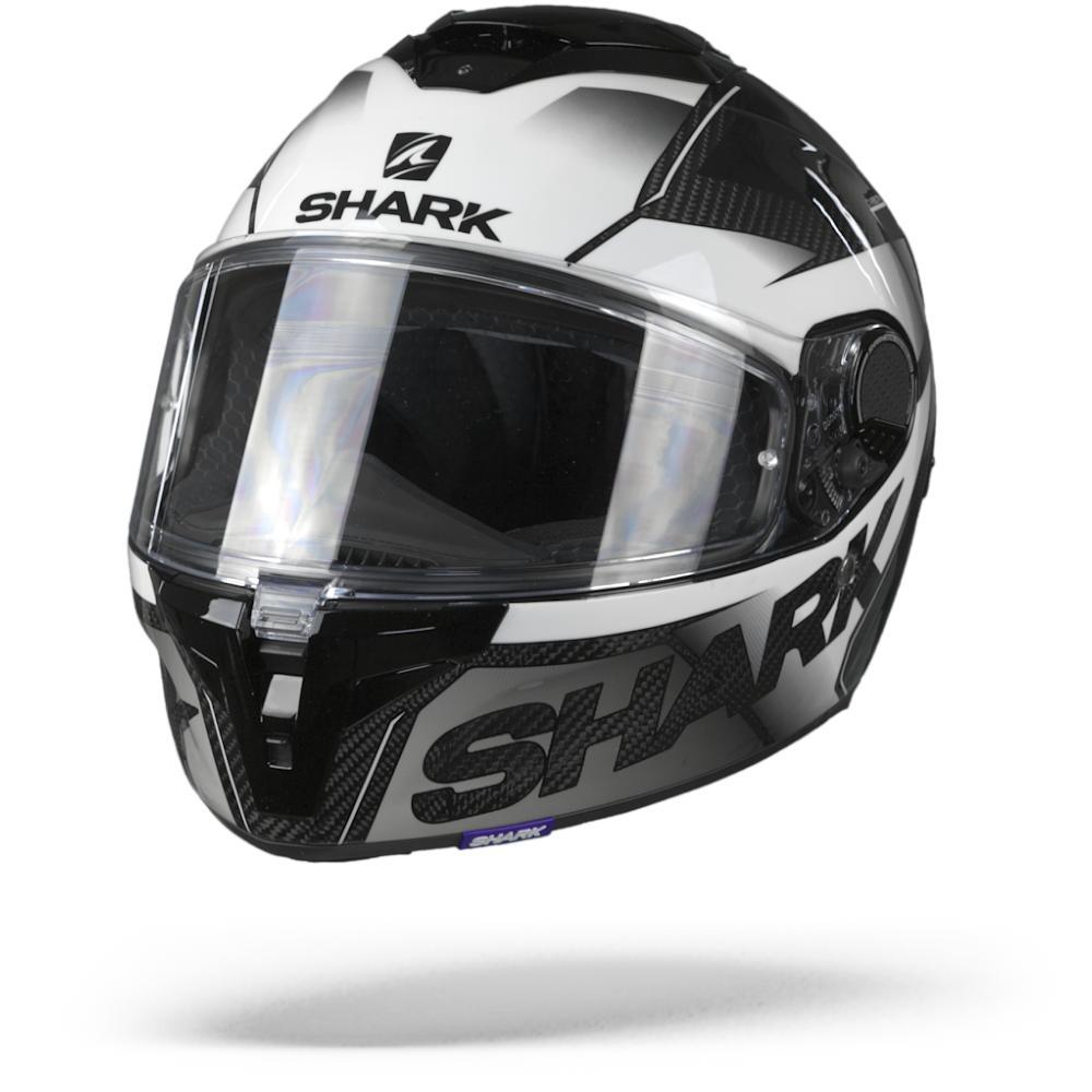 Shark Spartan GT Carbon Shestter Carbon Casco Integral Blanco M