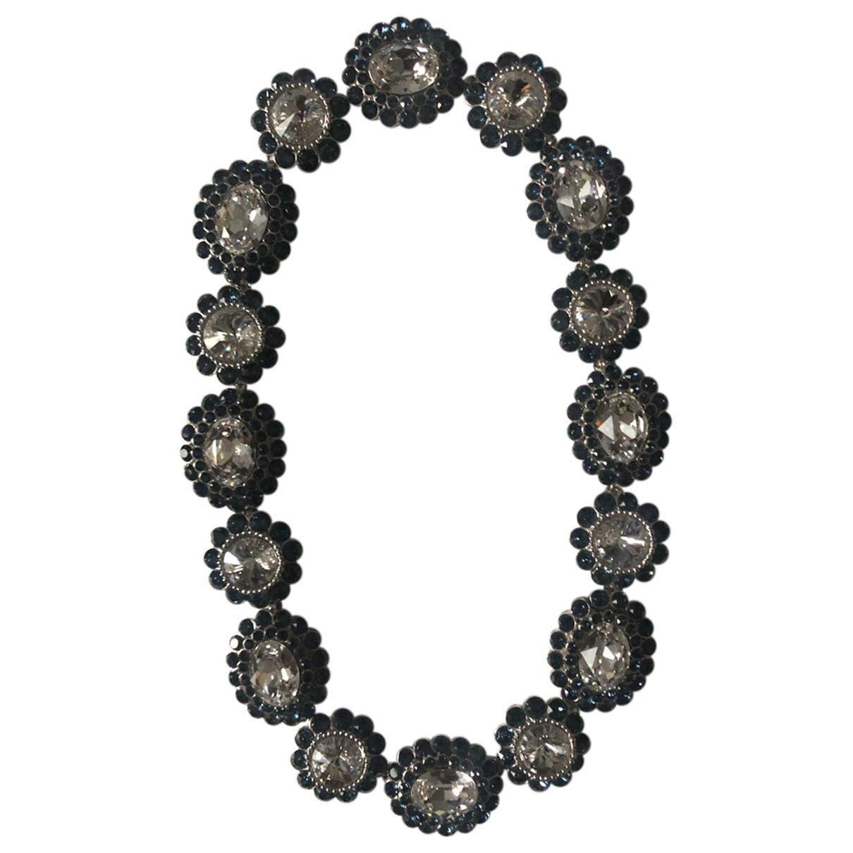 Miu Miu N Blue Crystal necklace for Women N