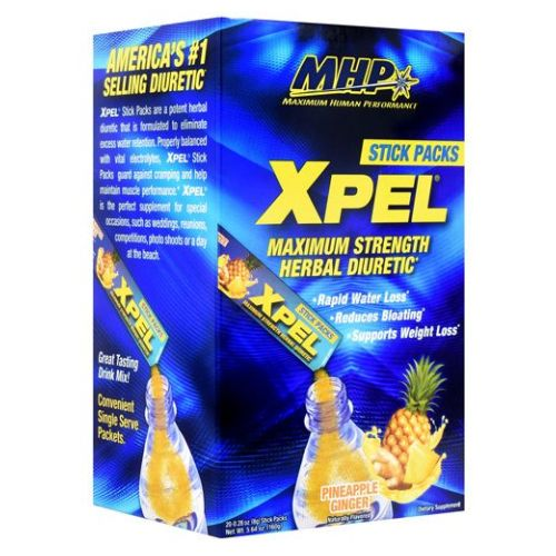 X-Pel Sticks Pineapple Ginger 20 Count by Maximum Human Performance