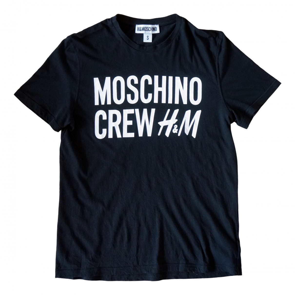 Moschino For H&m \N Black Cotton T-shirts for Men S International