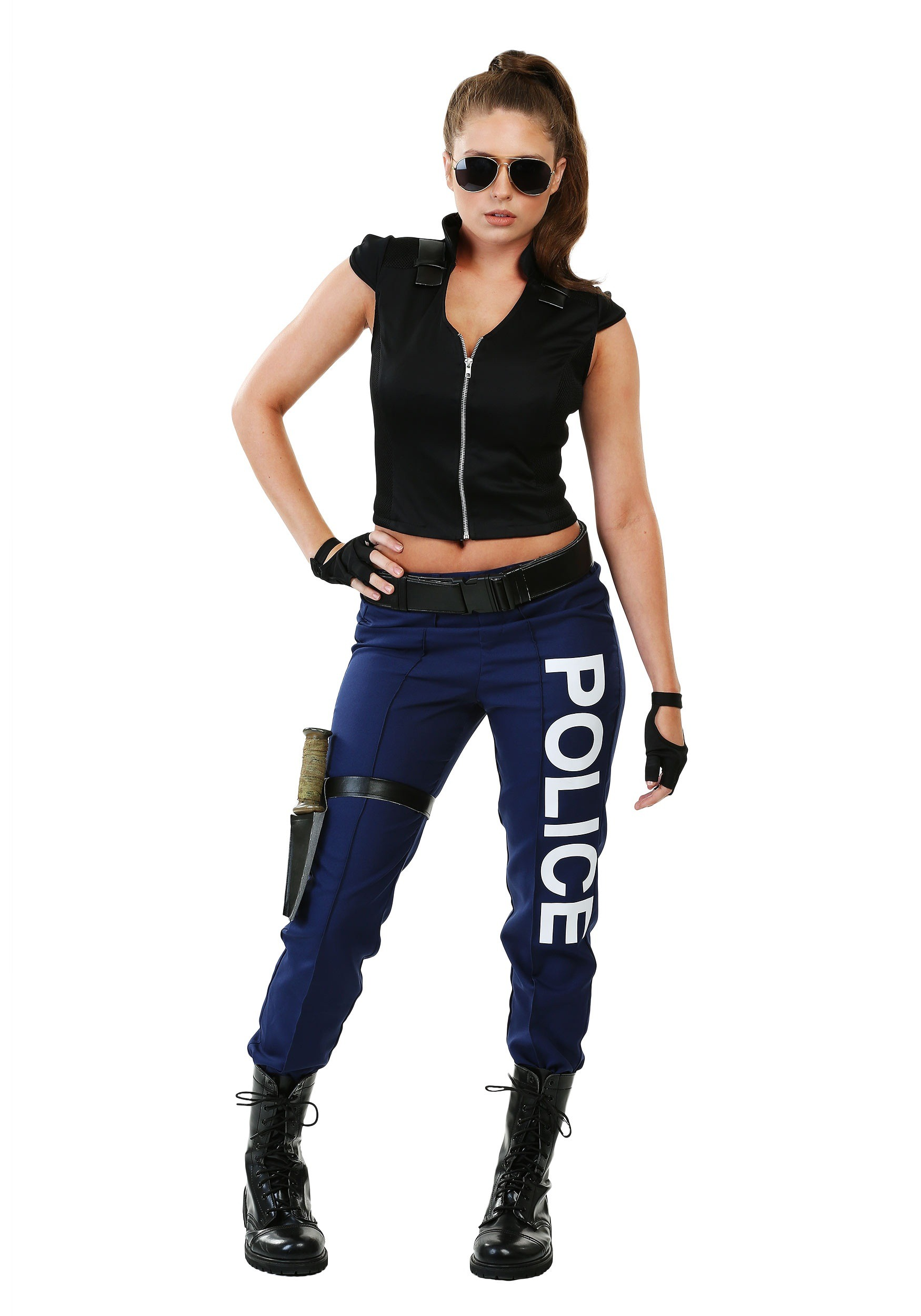 Women's Tactical Police Plus Size Costume 1X 2X
