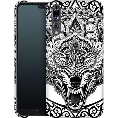 Huawei P20 Pro Smartphone Huelle - Wolf Head von BIOWORKZ