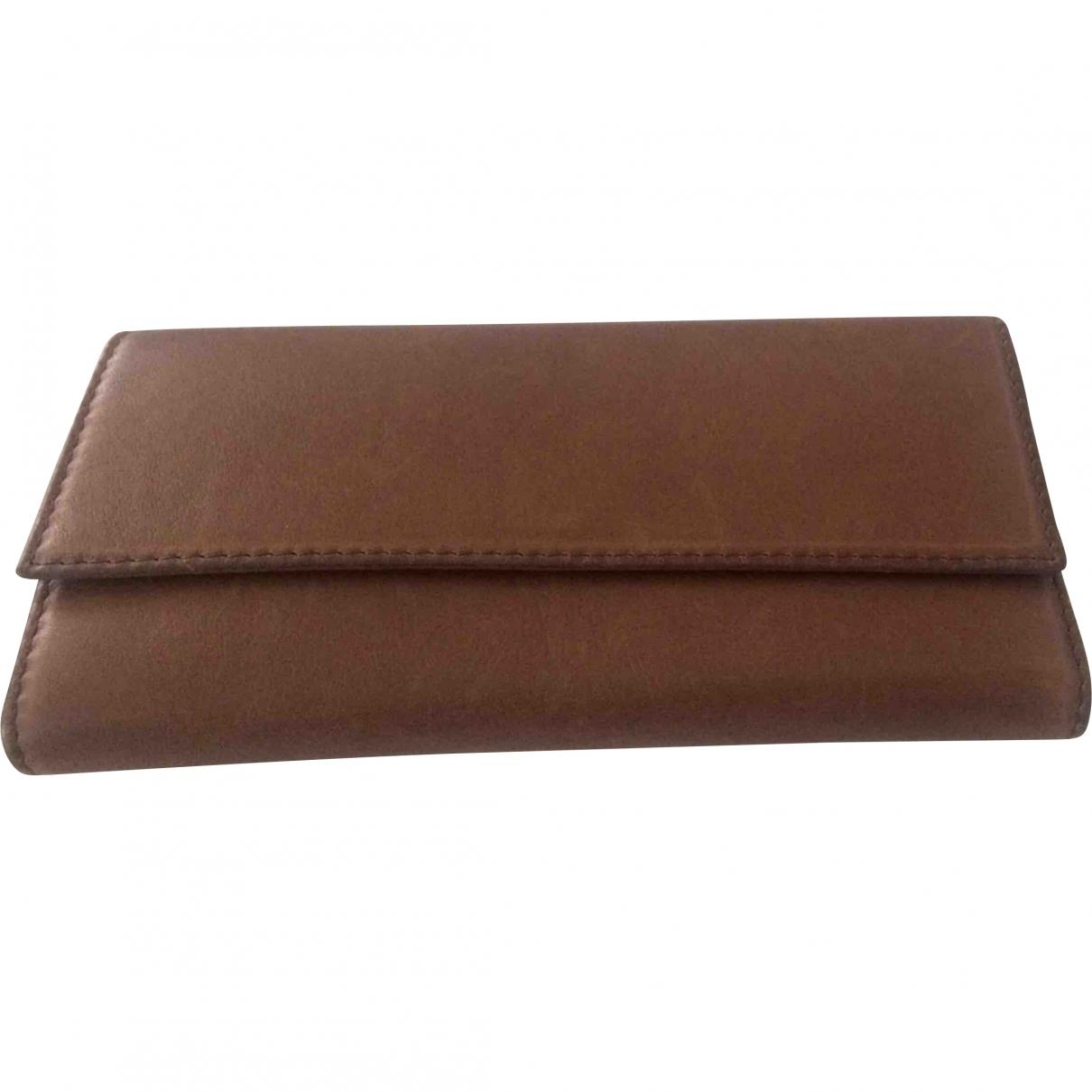 Gerard Darel \N Brown Leather wallet for Women \N