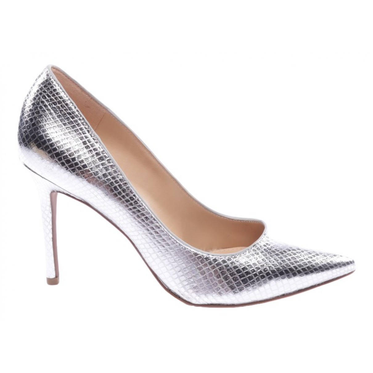 Michael Kors \N Metallic Leather Heels for Women 37.5 EU