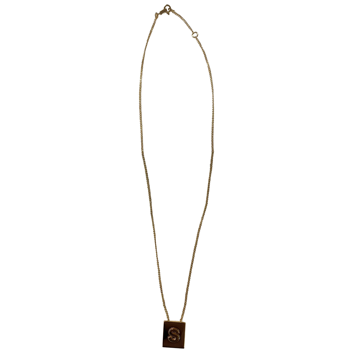 Celine Alphabet Gold Long necklace for Women N